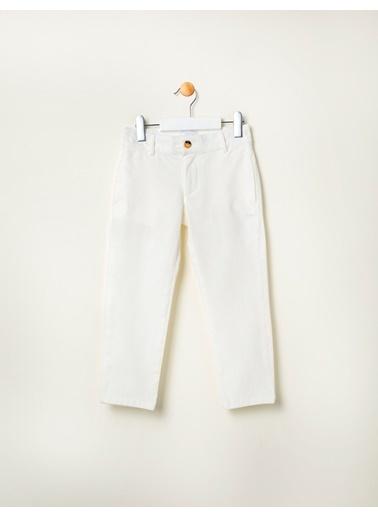 Pinolini Basic Chino Pantolon Beyaz